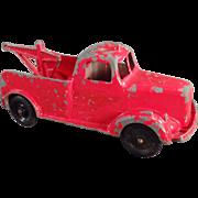 Old Tootsietoy, Wrecker Tow Truck - 1947 Mack Truck