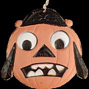 Old, Halloween Decoration - Die Cut Pirate Pumpkin Face