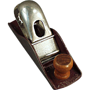 Old, Stanley #110 Block Plane - Maroon Japanned Finish