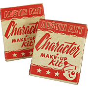 Old, Halloween Make-up Kits for Ghost and Indian
