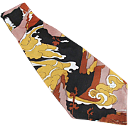 Men's Vintage Necktie - Wide, Bold Colors