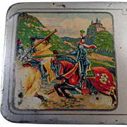 Old, A.W. Faber Castell, Metal Pencil Box