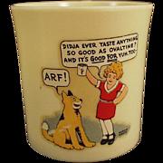 Old, Orphan Annie and Sandy, Ovaltine Mug - Beetleware