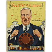 Vintage Sheet Music- Feel Like a Million - Natures Remedy Advertising