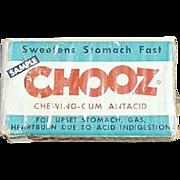 Old Chooz, Antacid Gum - Medical Sample