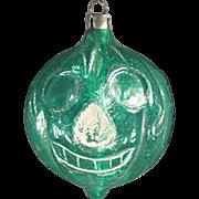 Old, Blown Glass, Halloween J-O-L Christmas Ornament