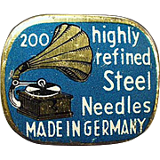 Vintage, Phonograph Needle Tin - Highly Refined