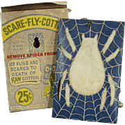 Vintage, Scare-Fly-Cotton - Nice Spider Graphics