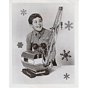 Vintage, A.C. Gilbert, Erector Advertising - Press Release and Photo
