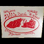 """1977 Pebble Beach """"Concours d'Elegance""""  Program"""