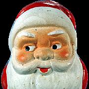 Vintage, German Candy Container - Santa Claus