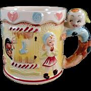 Child's Vintage, Nursery Rhyme Milk Cup - Hansel & Gretel