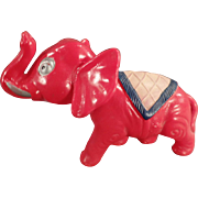 Vintage, Celluloid Elephant, Nodder Toy