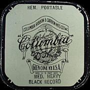 Vintage Typewriter Ribbon Tin - Columbia