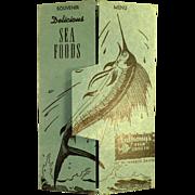 Vintage Souvenir Menu / Postcard Mailer - Anthony's Fish Grotto