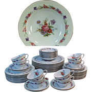 Service for Eight - Occupied Japan, Sango China 6pc Place Setting for 8 (Plus a Few Extras)