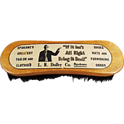 Vintage, Advertising Clothes Brush - Dolby Taylor, Spokane