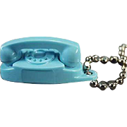 SALE PENDING Vintage, Princess Telephone, Key Chain