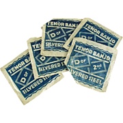 Five Packages of Vintage Banjo Strings - Made in Germany