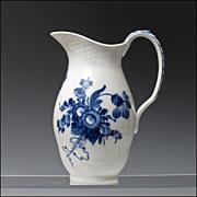 SOLD Royal Copenhagen Pitcher / Jug in the Blue Flower Pattern