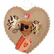 Cupid's Messages - Early Telephone Theme Valentine