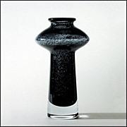 Mid Century Swedish Art Glass Vase - Bo Borgstrom for Aseda - Moderne - Mod - 1960's