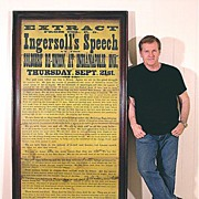 Huge 1876 Broadside - A Vision of War - Ingersoll's Indianapolis Speech - Civil War - Historical - Political