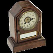 Vintage Seth Thomas roman numeral shelf clock