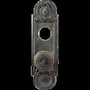 SOLD Elks Club Collectors bronze knob set