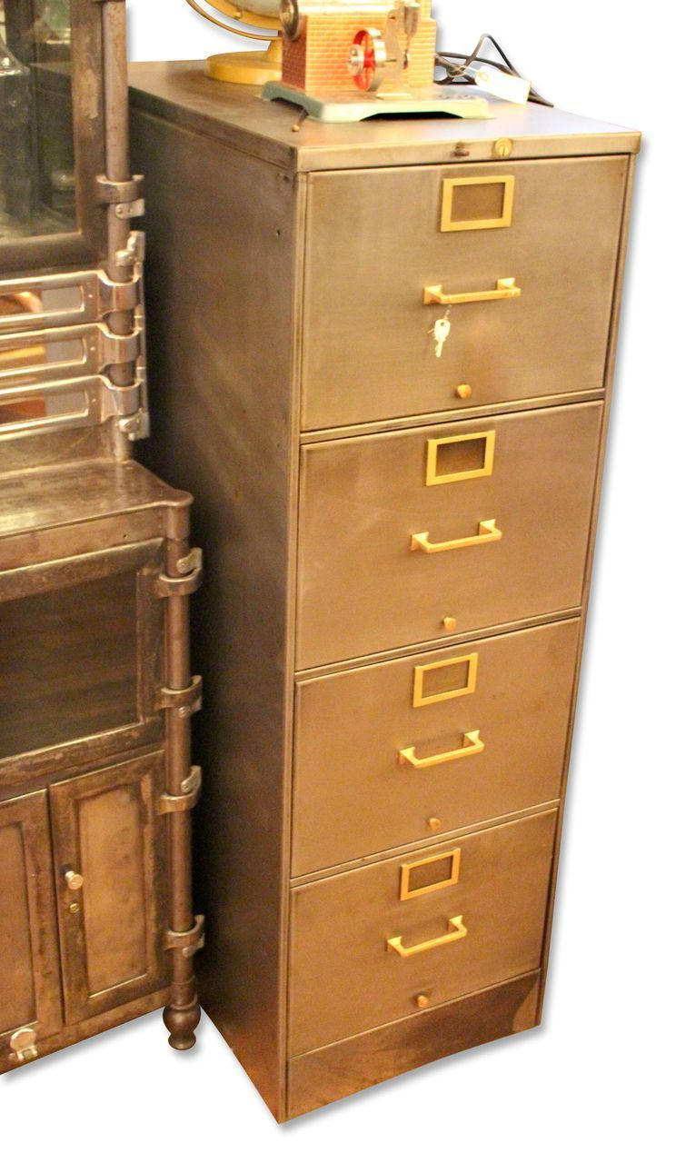 Luxury Combine 9  Industrial Furniture  Vintage Metal Flat File Cabinet