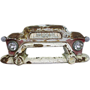 Worn GMC vintage car front