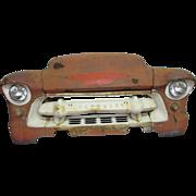 Vintage Chevrolet burnt orange car front