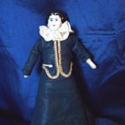 """China Head 6"""" dollhouse lady"""
