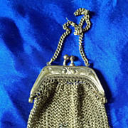 SALE Doll's Mesh Purse in Unusual Gold Color