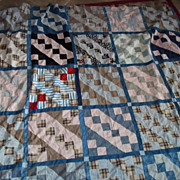 Quilt Top Using Early Fabrics