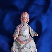 Vintage Dollhouse Girl