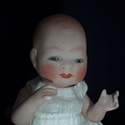 "6"" Bisque Bye-lo with Tummy Sticker, Sleep Eyes, Jointed Neck"