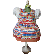 SOLD Factory Dress for Shirley or Similar Doll