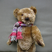 """15"""" Jointed Mohair Bear from Fifties"""