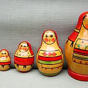 Russian Matroyoshka Nesting Doll