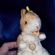 """SALE 1950's """"Goldy"""" Steiff Hamster"""
