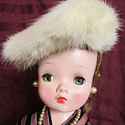 Winter Hat for Doll