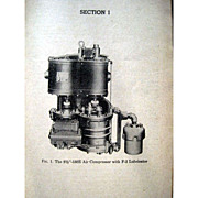 Vintage Railroad Instruction Manual  - Santa Fe Instruction for Air Brake Equipment