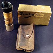 Practos Junior Extinction Light Meter In Original Box circa 1930's