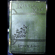 1899 Little Men - Louisa Alcott Vintage Book