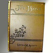 1892 Jo's Boys - Louisa Alcott Vintage Book