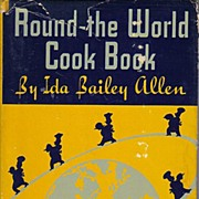 Round The World Cook Book -- Advertising by Nucoa