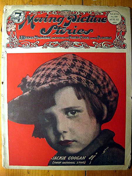 Moving Picture Stories Magazine August 1921