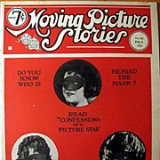 SALE...Moving Picture Stories Magazine February 1922