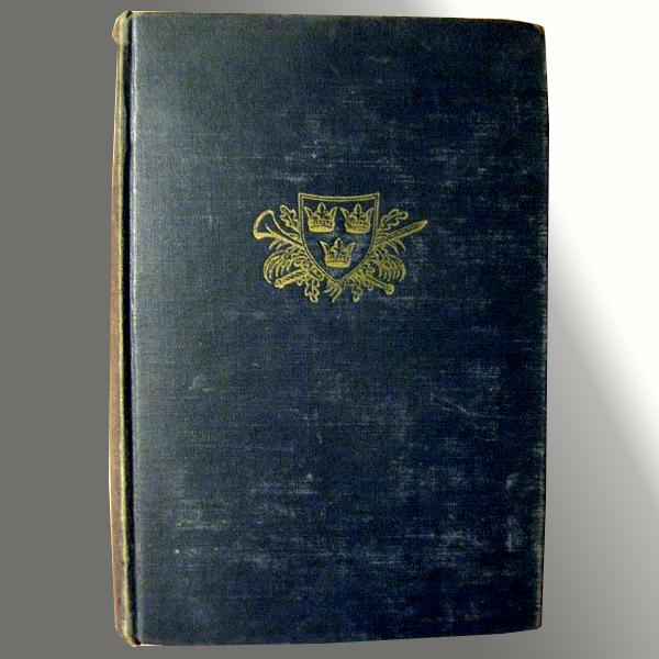 The Black Rose - 1945 Vintage Travel Fiction Book